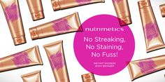 Nutrimetics helps you get that perfect glow with our Instant Goddess Body Bronzer #nutrisummer