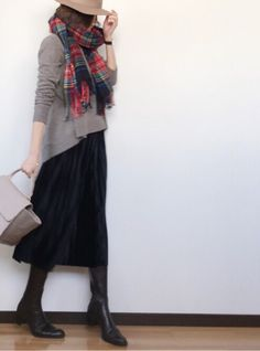 Fashion Tips for Women Over 40 - Fashion Trends Japan Fashion, Daily Fashion, Love Fashion, Winter Fashion, Fashion Design, Casual Hijab Outfit, Casual Outfits, Fashion Pants, Fashion Outfits