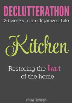Declutterathon Kitchen