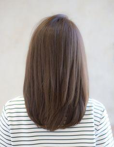 51 Ideas Hair Straight Medium Ideas Long Bob Haircuts For 2019 Medium Long Hair, Medium Hair Cuts, Short Hair Cuts, Medium Hair Styles, Curly Hair Styles, Medium Length Hair With Layers Straight, Short Layers, Long Bob Haircuts, Hairstyles Haircuts