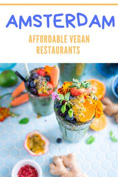 Affordable Vegan Restaurants in Amsterdam - Travel Foodie - Travel Power Smoothie, Vegan Restaurants, Detox Your Body, Healthy Fats, Healthy Eating, Healthy Recipes, Plant Based Diet, Foodie Travel, Going Vegan