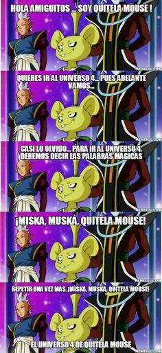 EL UNIVERSO 4 de Quitela Mouse