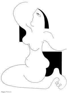 Hildegarde Handsaeme - Liberté #figurativeart #portrait #humanconnection #contemporaryart #artcollection #interiordesign #artdecor #artininterior #artathome #livewithart #artininterior #homedecor #artoftheday #abstractedfigure #gallery #artshow #artcollector #art #artEachDay #blackandwhite