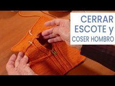 Explicación detallada de cómo tejer un cuello escote en V o en pico, que sea fácil y que quede perfecto terminado. Videos paso a paso Straw Bag, Knit Crochet, Reusable Tote Bags, Knitting, Youtube, Knitting Tutorials, Knitting And Crocheting, Tips, Fabric Samples