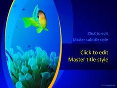 Free Fish Tank PPT Template