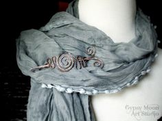 Your place to buy and sell all things handmade Gypsy Moon, Copper Hair, Celtic Designs, Moon Art, Hair Barrettes, Organza Bags, Cool Style, Autumn Fashion, Shawl Pin