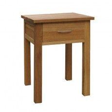 Brooklyn Oak Bedside Table