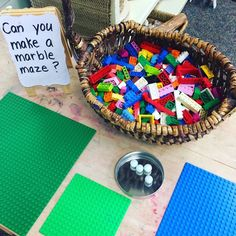Physics in Kindergarten? Absolutely! ?This is why play is so important in Early Childhood Education! How else could children begin to have a...
