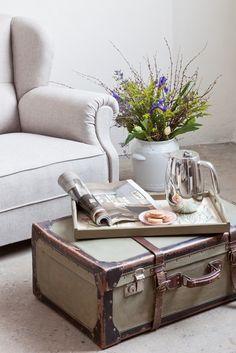 Patynowy - Pomysłowa walizka