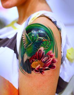 Tattoo by Silvano Fiato at Eternal Tattoo Studio in Genova, Italy #InkedMagazine Love the color!!