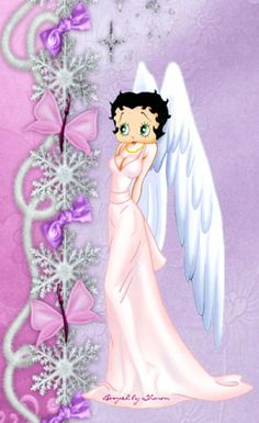 betty boop i love this <3