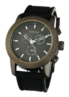 Allen Lyle watch - I kind of love this...and it's on sale