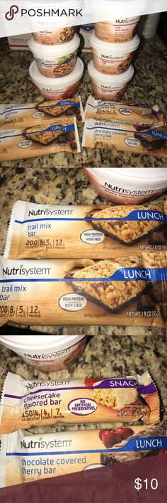 Nutrisystem New in Package Meals! See photos! New in package nutrisystem items! Great deal! Check out my other nutrisystem listings and bundle for a package deal! Nutrisystem Other