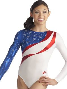 Please tell me the 2012 USA Womens Olympic Gymnastics Team will be wearing leotards similar to this for the Team Final - Freedom SWAROVSKI Leotard from GK Elite Kyla Ross