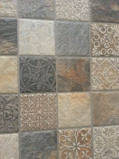 Decorative #mosaics for stylish #walls. #Ceramic #tiles by Gayafores.