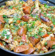 Recipe for Arroz con Pollo y Chorizo – Chicken and Rice with Chorizo