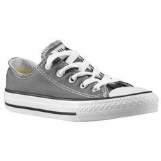 Converse All Star Ox - Boys' Grade School - Basketball - Shoes - Charcoal