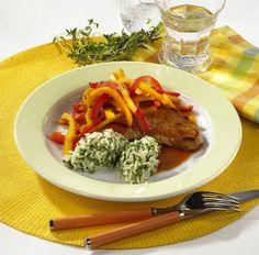 Unser beliebtes Rezept für Paprika-Schnitzel mit Reis und mehr als 55.000 weitere kostenlose Rezepte auf LECKER.de.
