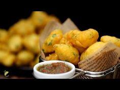 Easy Baja Recipe | Recette Bajia Facile | Plain Besan Pakora - YouTube Mauritian Food, Burmese Food, Pakora Recipes, Iftar, Sauce Recipes, Chutney, Hot Sauce, Street Food, Fries