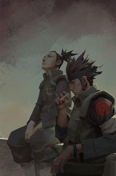 Shikamaru&Asuma, Enforcer 12 on ArtStation at https://www.artstation.com/artwork/ad5Ez
