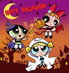 Powerpuff Girls : Halloween