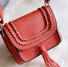 Shoulder Handbag Clutch Bag Color (Rust) Adjustable straps Bags Crossbody Bags