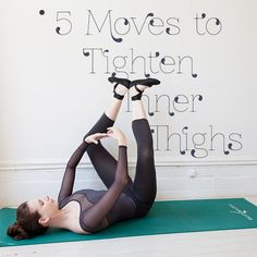 Victorias Secret Angels trainer Mary Helen Bowers shares her super-effective inner thigh workout.