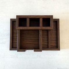 Органайзер настольный из дуба (250х160х100мм) – купить в интернет-магазине на Ярмарке Мастеров с доставкой