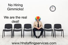 """Need a """"HOT JOB""""? We have them! #HHStaffing posts as many as 30 #jobs daily. Our jobs range from short term #temporary assignments to long term #directhire positions. We hire #executives and new #collegegrads. Best news . . . . no #hiring gimmicks! We are always free to the #jobseeker and center our services around job satisfaction and quality positions. Don't miss one of our HOT JOBS check out www.hhstaffingservices.com today!"""