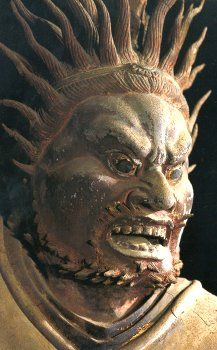 Nio Protectors of Japan - Japanese Buddhism Photo Dictionary