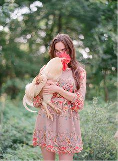 Chicken, clothes, garden ..... taadaah!
