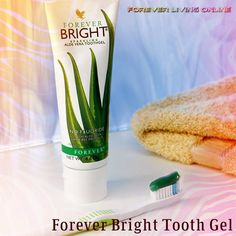The famous forever bright toothpaste which whitens your teeth as well🤩 Made from aloe vera and bee propolis - contains NO fluoride✅   Best Toothpaste, Kids Toothpaste, Forever Bright Toothgel, Forever Living Aloe Vera, Bee Propolis, Stronger Teeth, Natural Teeth Whitening, Forever Living Products, Body Care