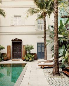 bangkok thailand eugenia hotel pool