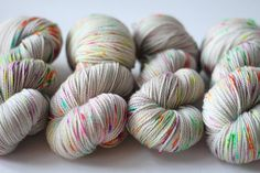 Stitch Mischief - Hand dyed yarn, project bags and all the colors! Hand Dyed Yarn, All The Colors, Rainbow, Throw Pillows, Stitch, Gray, Projects, Rain Bow, Log Projects