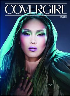 MAKEUP; Covergirl magazine featuring star wars female charaters