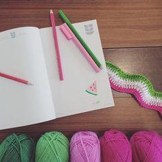 Working on a new watermelon blanket design today  #babyblanket #blanket #handmade #handcrochet #crochetlove #crochet #crochetaddict #instadaily #instayarn #nursery #newbaby #getcreative #makeit #makersgonnamake #makersmovement #craftsposure #craftherapy #handmadeisbetter #becreative #makersvillage #semplicity #flashesofdelight #craftersofinstagram #crochetconcupiscence by dyenumber2