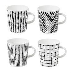 Design House Stockholm Catharina Kippel Bono Handle Mugs