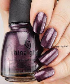 China Glaze Bogie   Be Happy And Buy Polish https://behappyandbuypolish.com/2016/12/02/china-glaze-spontaneous-stroll-lasso-my-heart-strike-up-a-cosmo-bogie-and-urban-night-swatches-review/