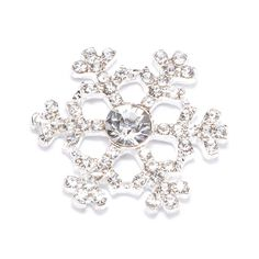 Baby it's cold outside! Make your world sparkle with these shiny rhinestone snowflakes for only $1.25 each! Find a wide variety of silver and gold rhinestone snowflakes and more at totallydazzled.com!