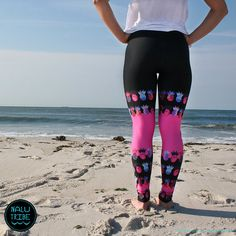 Tutti frutti Pink Pineapple Legging for SURF SUP by NaluTribe
