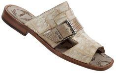 Mauri Genuine Crocodile Sandal Skin: Crocodile x Lizard Style: 1653 Color: Bone Nigerian Men Fashion, Mens Fashion, Shoes Sandals, Dress Shoes, Gentleman Shoes, Stylish Sandals, Pink Sandals, Mens Slippers, Summer Shoes
