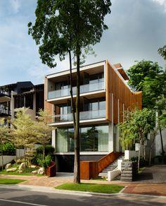 Sentosa House, una vivienda tropical y sostenible diseñada por Nicholas Burns en Singapur. | diariodesign.com