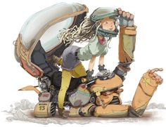 Becas para Estudiar Animación 2D & 3D, Ilustración, Manga, Videojuegos ❤️ Concept Art, Character Design, Inspiration, 2d, Fictional Characters, Instagram, Character Creation, Art School, The Creation
