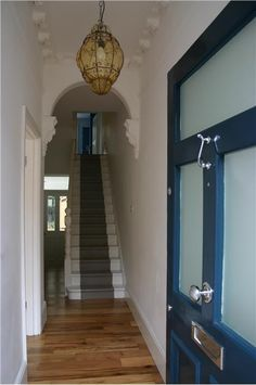 An inspirational image from Farrow and Ball - Hague Blue