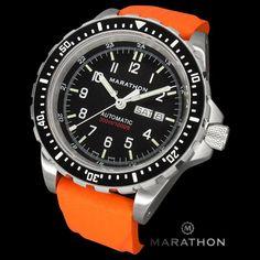 Marathon Diver's Automatic Bilingual Orange