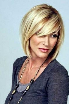 42 Trendy Ideas Hair Cuts For Over 50 Popular Haircuts New Looks 302585668713536280 Layered Bob Hairstyles, Haircuts For Long Hair, Short Hairstyles For Women, Hairstyles With Bangs, Bob Haircuts, Classy Hairstyles, Wedding Hairstyles, Gorgeous Hairstyles, Blonde Hairstyles