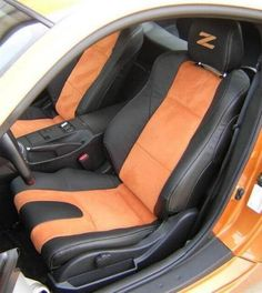 Nissan Leather Seats - My wishlist - Nissan 350z, Nissan Z Cars, My Dream Car, Dream Cars, Leather Kits, R Vinyl, Reliable Cars, Car Interior Accessories, Leather Interior