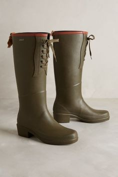 Aigle Avocet Wellies… Need these!