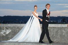 La robe de mariée Armani de Béatrice Borromeo pour son mariage avec Pierre Casiraghi en Italie 10