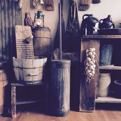In our home! ️Primitive Staples